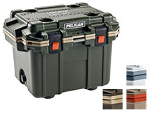 Pelican 30Q Elite Cooler - 30 Quart - White, Tan, or OD Green