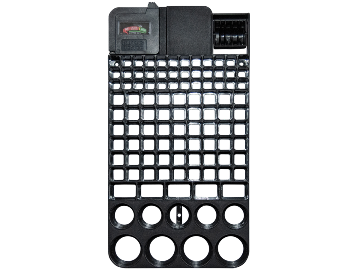Battery Store Organizer without batteries
