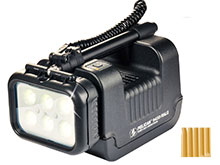 Pelican 9430 Remote Area Lighting System - 3000 Lumens - with Integrated SLA Battery - Black (094300-0001-110) or Yellow (094300-0001-245)