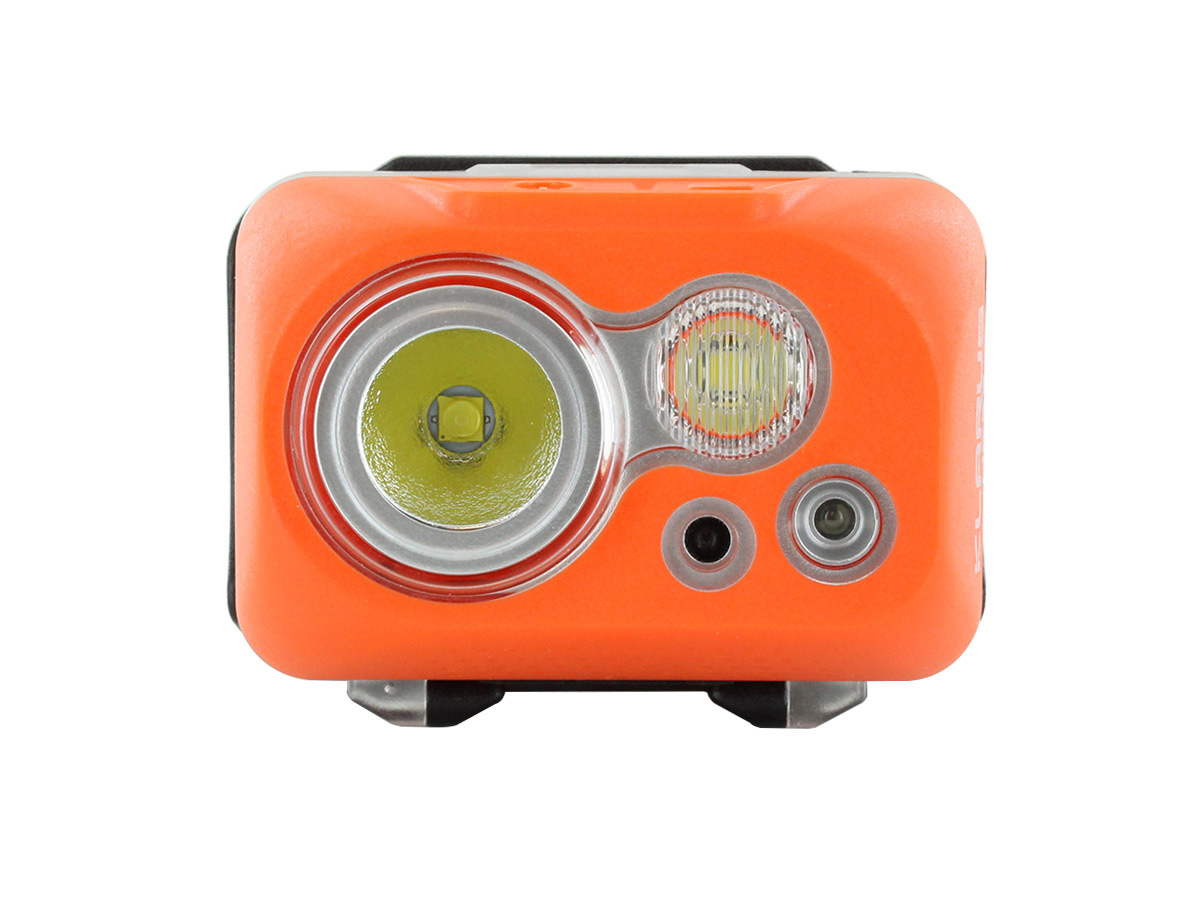 Klarus HC1-S Dual Headlamp light on its own without elastic band