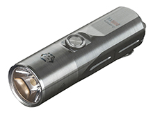 RovyVon Aurora A24 Ti Compact EDC Flashlight - CREE XP-L - 1,000 Lumens - Includes 600mAh Li-Poly Battery Pack - Titanium