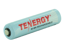 Tenergy 10400 AAA 1000mAh 1.2V Nickel Metal Hydride (NiMH) Button Top Battery - Boxed, Shrink-Wrapped in Sets of 12 - Sold Individually