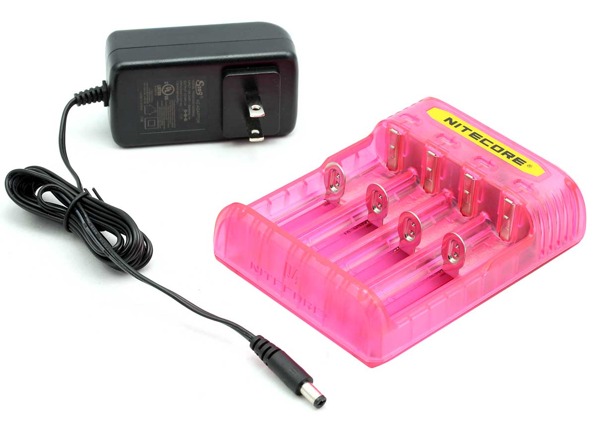 Pink Charger with Plug