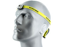 Nitecore NU05 USB Rechargeable LED Headlamp - 35 Lumens - Includes Li-ion Battery Pack