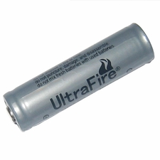 UltraFire UF 14500 900mAh 3.6V Protected Lithium Ion (Li-ion) Button Top Battery - Bulk