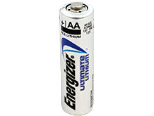 Energizer Ultimate L91 AA 3000mAh 1.5V High Energy 5A Lithium (LiFeS2) Button Top Batteries - Bulk