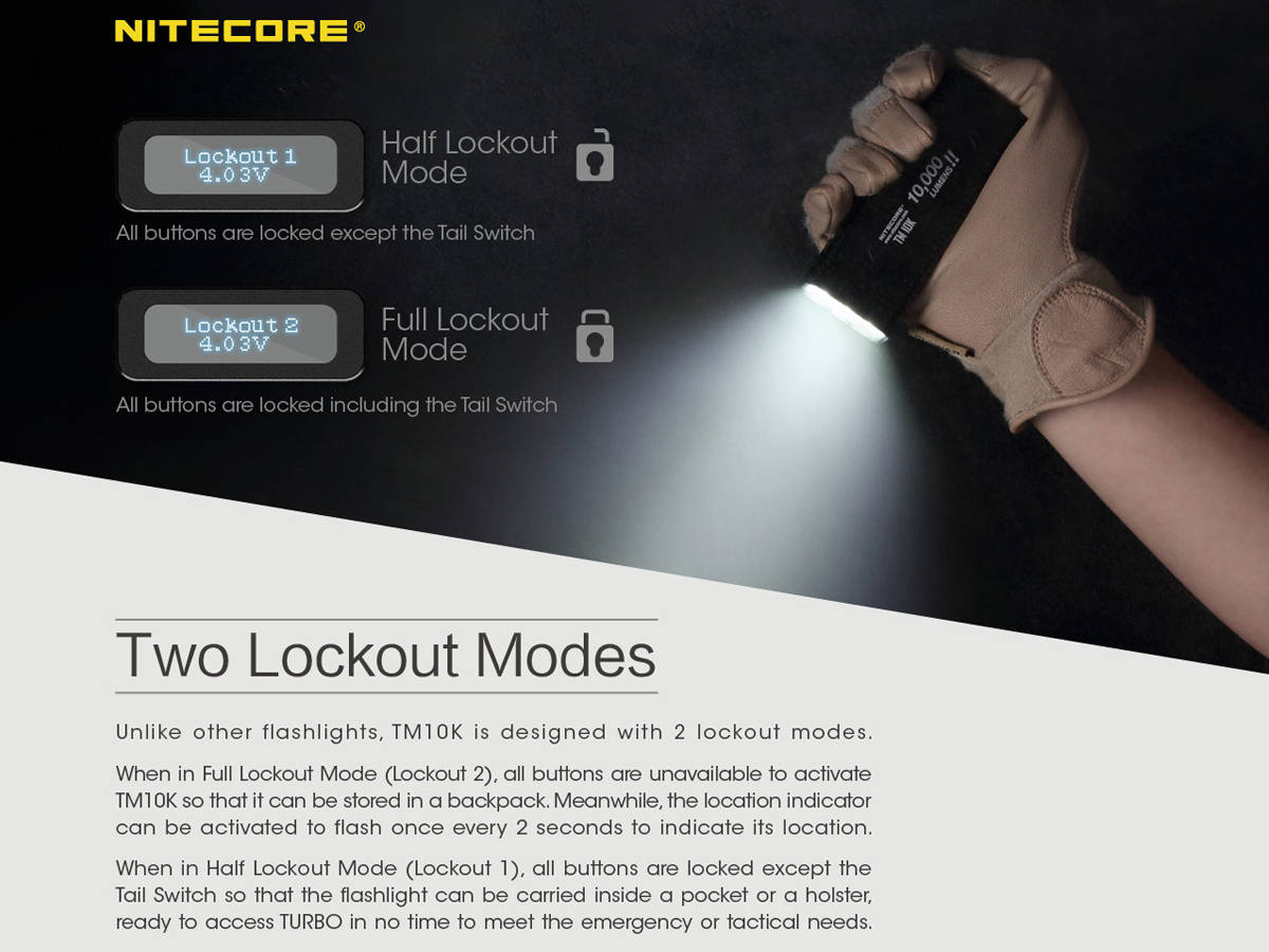 Multiple Lockout Modes