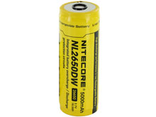 Nitecore NL2650DW 26650 5000mAh 3.7V Protected Lithium-Ion (Li-ion) Custom Battery for R40 Flashlight