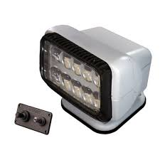 Golight LED Permanent Golight With Dash Mounted Controls - White