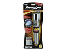 Energizer EPMZH61E Performance Metal LED Flashlight - 1300 Lumens - Includes 6 x AA