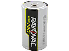 Rayovac Ultra Pro AL-D Alkaline Button Top Battery - Bulk
