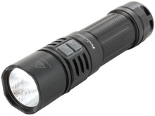 Fenix PD40R Portable High Intensity USB Rechargeable Flashlight - CREE XPH 70 LED - 3000 Lumens - Includes 1 x 26650