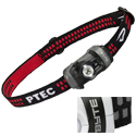 Princeton Tec Byte Headlamp - 1 x White Maxbright LED, 1 x Red Ultrabright LED - 100 Lumens - Includes 2 x AAAs - Black