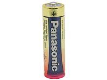 Panasonic Industrial LR6XWA AA (500PK) 1.5V Alkaline Button Top Batteries - Case of 500