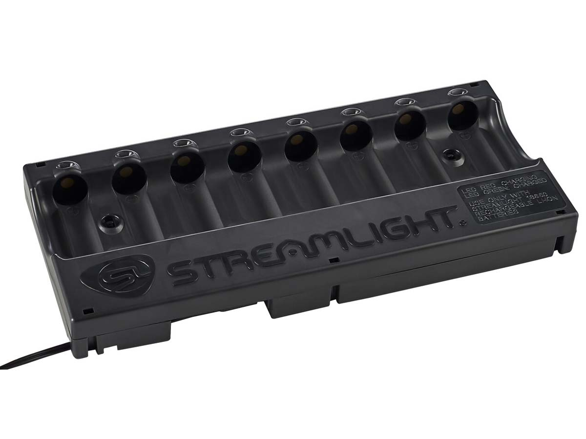 Streamlight 8-Bay 18650 Charger No Batteries Included