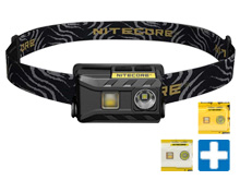 Nitecore NU25 Rechargeable LED Headlamp - CREE XP-G2 S3 - 360 Lumens - Uses Built-In Li-Ion Battery Pack