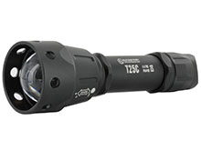 Sunwayman T25C Zooming Tactical Flashlight with 38mm Convex Lens - CREE XM-L2 U3 LED - 880 Lumens - Uses 1 x 18650 or 2 x CR123As
