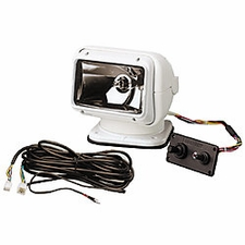 Golight Permanent Golight with Dash Mounted Controls - Available in White or Black