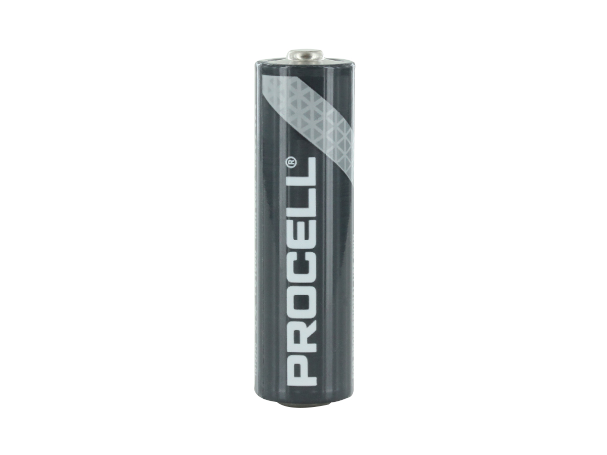 Duracell Procell AA battery upright