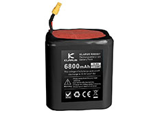 Klarus RS80GT-BP 10.8V 6800mAh Replacement Battery Pack for the RS80GT