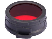 Nitecore 60mm Red Filter - Works with TM11, TM15 & MH40