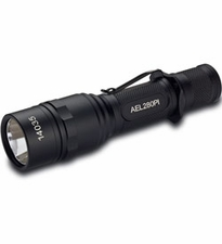 AE Light AEL280PI Flashlight - CREE XM-L T6 LED - 280 Lumens - Uses 2 x CR123A or 1 x 18650