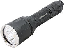 JETBeam WL-20 LED Hunting Flashlight - CREE XP-G3 S4 - 1000 Lumens - Red, Green and White LEDs - Uses 1 x 18650 (Included) or 2 x CR123A