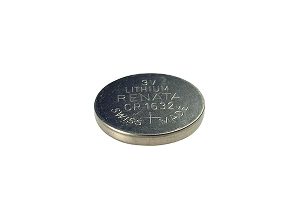 Renata CR1632-CU coin cell - by itself without packaging