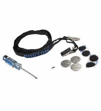 LRI Accessory Kit:  Photon Clip - Necklace - Long Neck Lanyard - 1 CR2032 and 2 CR2016 Batteries -  1 Screw - Screwdriver and 2 Velcro Brand Dot Sets (AK)