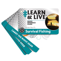 Ultimate Survival Technologies Learn and Live Pocket Guide - Survival Fishing - 10 Informative Cards for Catching Fish (20-02749)