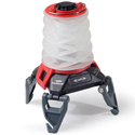 Princeton Tec Helix Backcountry Collapsible Lantern - Red and White LEDs - 150 Lumens - Includes 3 x AAAs - Red/Black