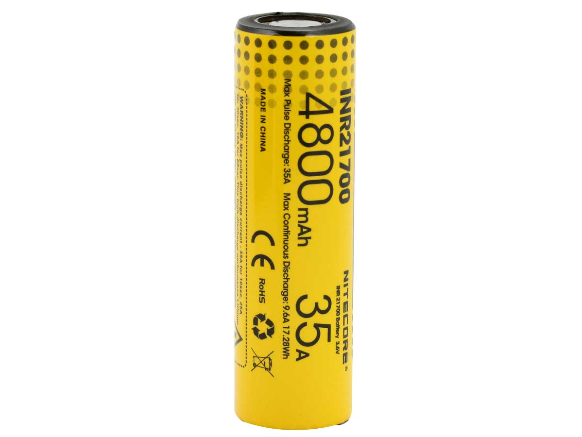 Nitecore INR 21700 Li-Ion Battery