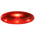 Nite Ize Flashflight LED Flying Disc - 10.5-inch - Includes 2 x CR2016s - Red (FFD-08-10)