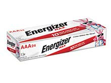 Energizer Max E92 AAA 1.5V Alkaline Button Top Batteries - 24 Pack