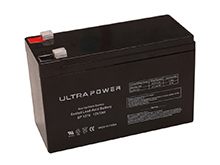 UltraPower UP1270F1 7Ah 12V Rechargeable Sealed Lead Acid (SLA) Battery - F1 Terminal