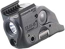 Streamlight TLR-6 Rail Mounted Gun Light - White LED and 640-660nm Red Laser - 100 Lumens - Includes 2 x CR 1/3N lithium batteries - Fits Various Weapons
