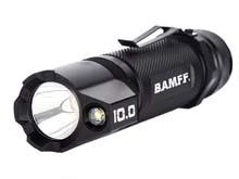 Striker BAMFF 10.0 Dual CREE LED Rechargeable Flashlight with Tactical Mount Kit - 1000 Lumens - Includes 1 x 18650
