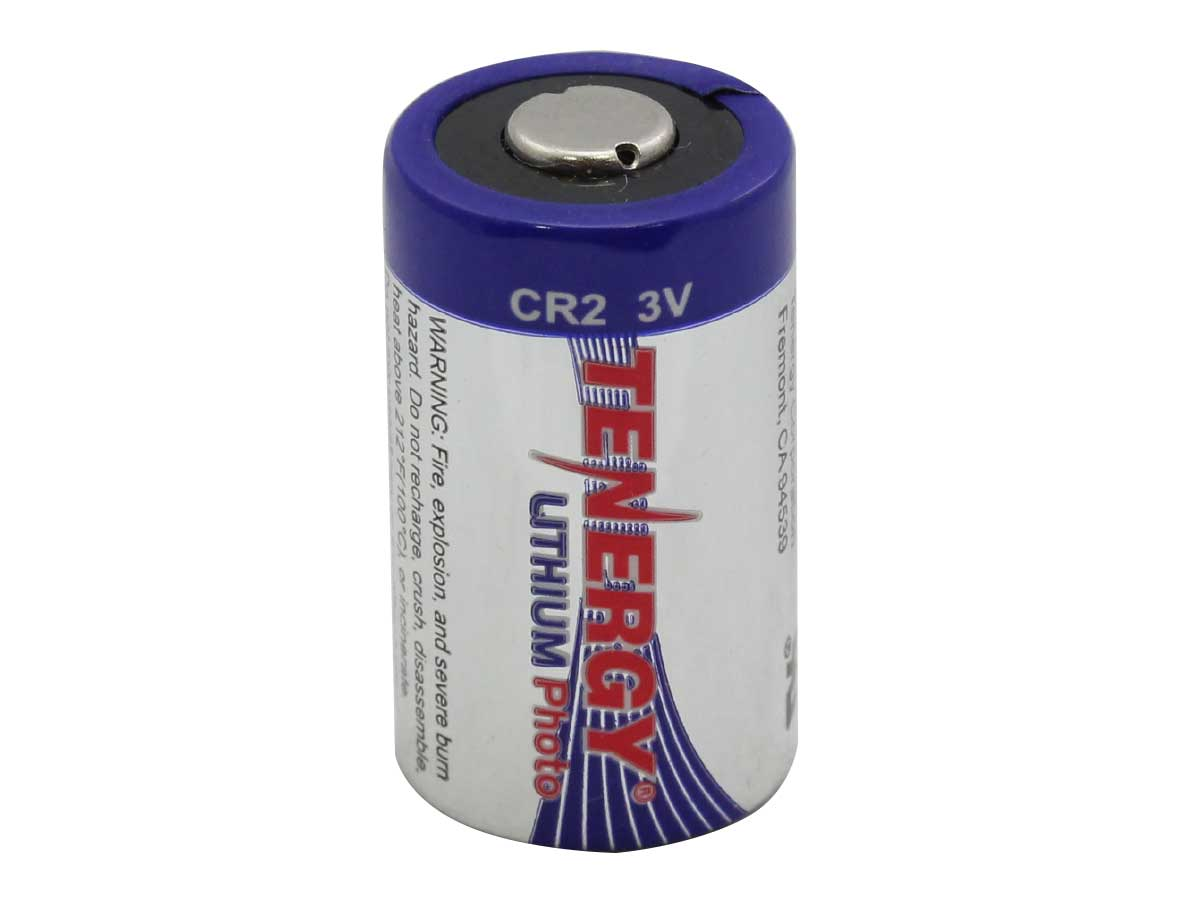 Tenergy CR2 Lithium Photo Battery