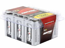 Rayovac Ultra Pro AL-9V-12 Alkaline Batteries with Snap Connectors - 12 Pack