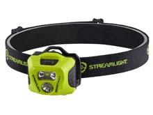 Streamlight Enduro Pro HAZ-LO Headlamp - Class 1 Div 1 - 235 Lumens - Includes 3 x AAA - Yellow - Box (61424)