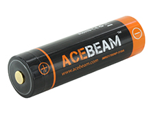 Acebeam IMR 21700 5100mAh 3.7V Protected High-Drain 20A Lithium Ion (Li-ion) Button Top Battery - Blister Pack