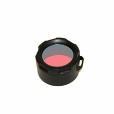 Powertac Green  or Red Filter for E5 or Cadet Flashlights
