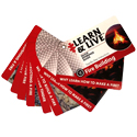 Ultimate Survival Technologies Learn and Live Pocket Guide - Fire Building - 8 Informative Cards for Starting a Fire (20-80-1035)