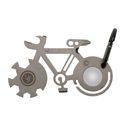 Ultimate Survival Technologies Tool A Long Bicycle Multi-Tool - Stainless Steel - 11 Total Tools - TSA-Compliant (20-02762)