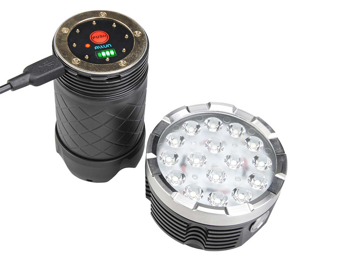 MecArmy PT60 LED Flashlight