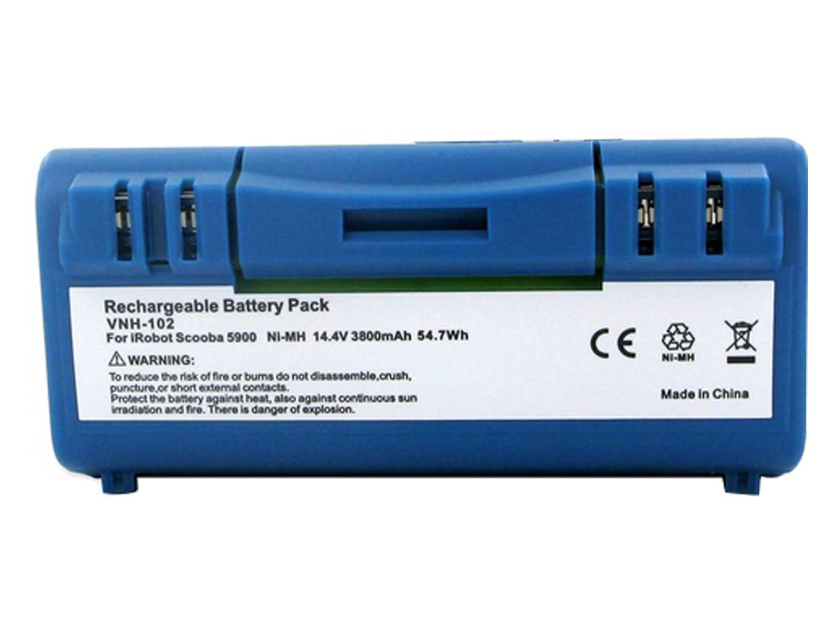 Replacement Ni-MH Battery for the Scooba 5900 Vacuum