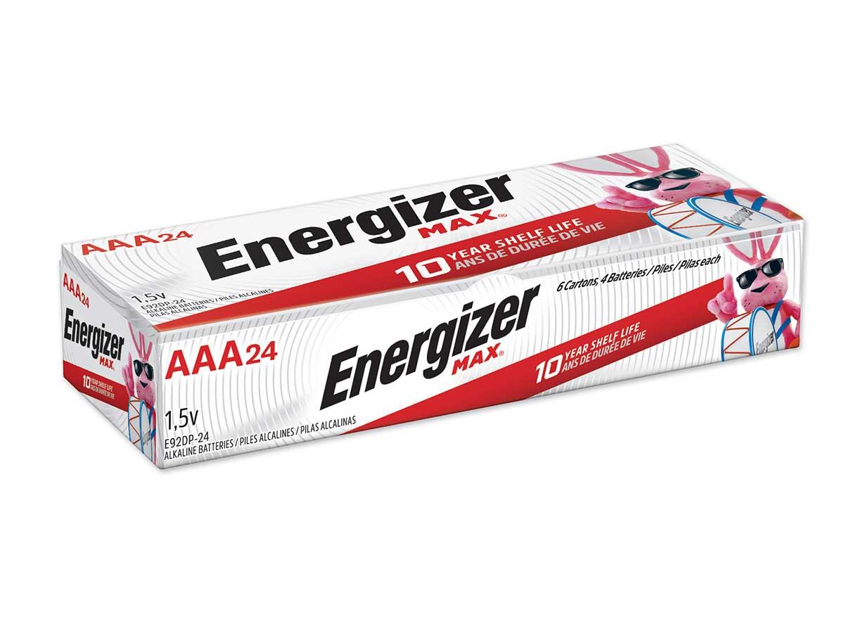 Energizer Max AAA - 24 Pack