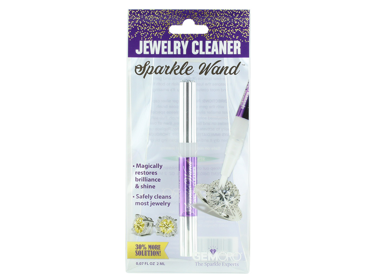 GemOro Sparkle Wand Cleaner in packaging