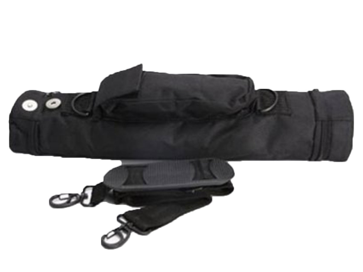 AE Light Nylon carrying case and strap front view