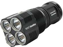 Nitecore Tiny Monster TM26GT Flashlight - 4 x CREE XP-L HI V3 LEDs - 3500 Lumens - Uses 4 x NL183 18650s